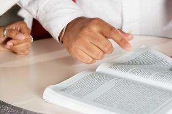 O livro da Ata é específico e deve conter folhas numeradas
