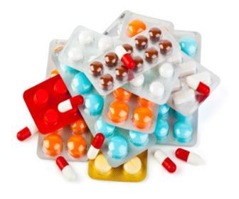 As doses diárias variam de 20 a 40mg/dia
