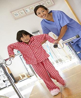 Fisioterapia auxiliando o crescimento das crianças