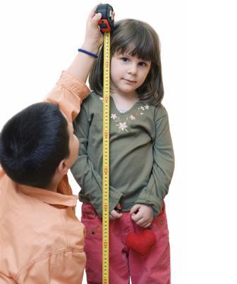 Medidas antropométricas na criança