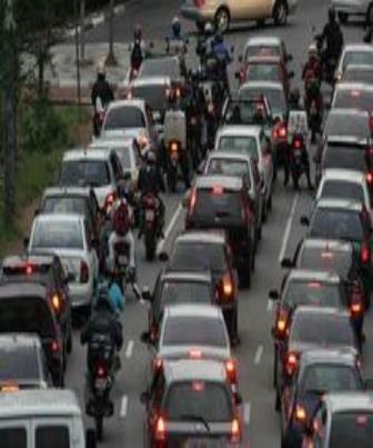 Colisões com motocicletas no trânsito