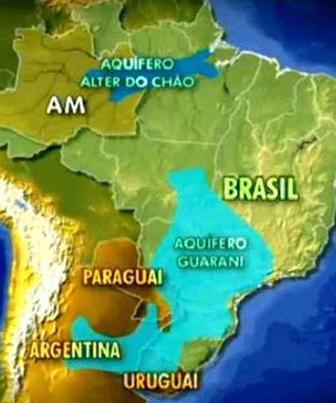 Aquífero Alter do Chão é localizado sob os estados do Amapá, Amazonas e Par&