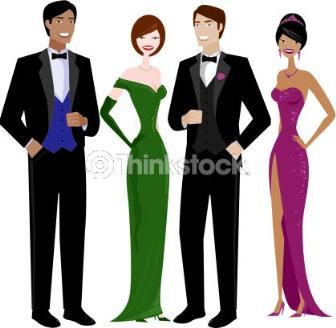 trajes para cerimônias