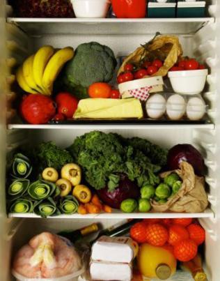 Alimento bem armazenado e em ambiente limpo