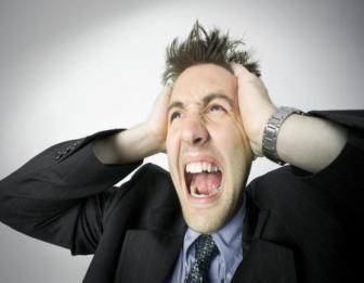 você está muito estressado?
