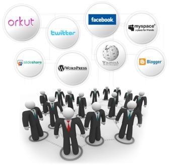 redes sociais tomam lugar do tradicional currículo
