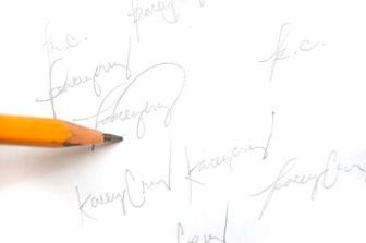 Grafia de Assinaturas e Firmas