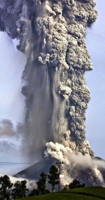 Os vulcões possuem quatro tipos principais de cones