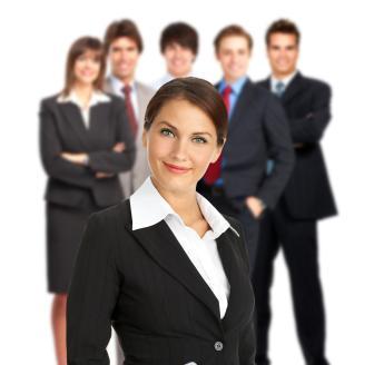 Mediador e um grupo de gestores