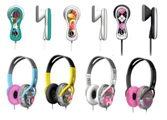 Diversos modelos headfone
