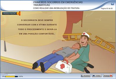 Curso Primeiros Socorros em Emergências Traumáticas