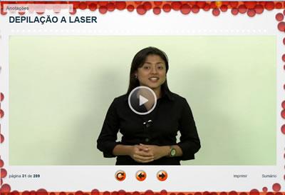 Curso Depilação a laser