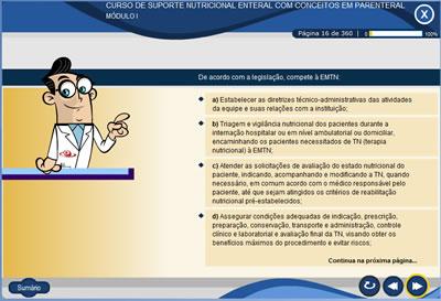 Curso Suporte Nutricional Enteral com Conceitos em Parenteral