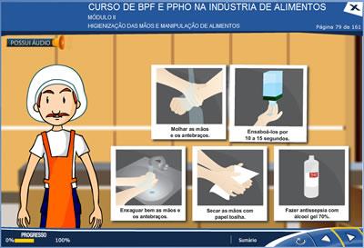 Curso Boas Práticas de Fabricação na Indústria de Alimentos