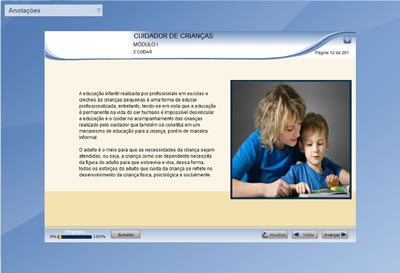 Curso Cuidador de Crianças - Babá