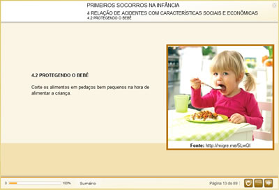 Curso Primeiros Socorros na Infância