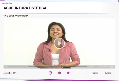 Curso Acupuntura Estética