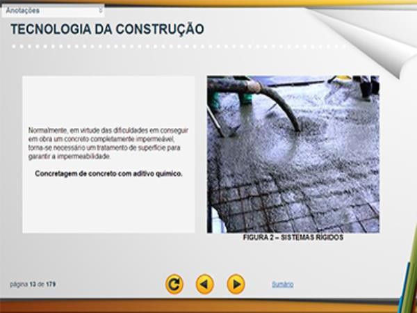 Curso Tecnologia da Construção