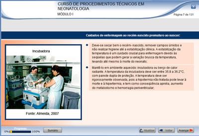 Curso Procedimentos Técnicos em Neonatologia