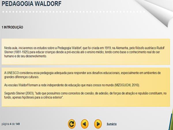 Curso Pedagogia Waldorf