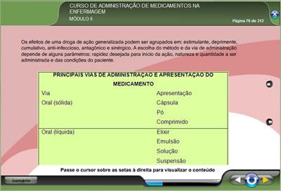 Curso Administração de Medicamentos na Enfermagem