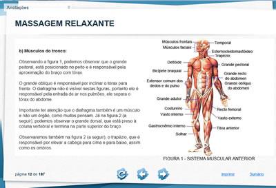 Curso Massagem Relaxante