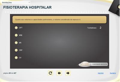 Curso Fisioterapia Hospitalar