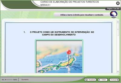 Curso Elaboração de Projetos Turísticos