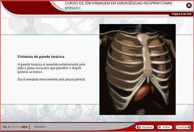 Curso Enfermagem em Emergências Respiratórias