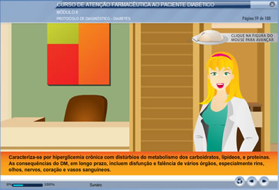 Curso Atenção Farmacêutica ao Paciente Diabético