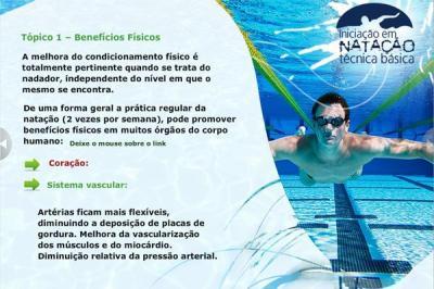 Curso Iniciação em natação - técnica básica