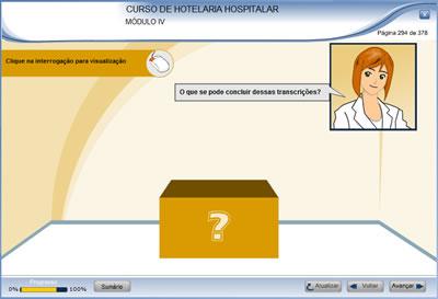 Curso Hotelaria Hospitalar