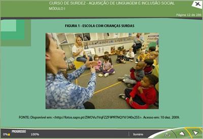 Curso Surdez - Aquisição de Linguagem e Inclusão Social