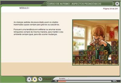 Curso Autismo - aspectos pedagógicos