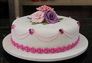 Bolo Artístico básico + 3 receitas - Cake Designer Nice Porto