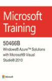 50466B - Windows Azure soluções com o Microsoft Visual Studio 2010