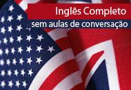 Inglês Completo (sem aulas online ao vivo de conversação)
