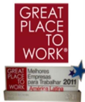 2011 - 50 Melhores Empresas para Trabalhar da América Latina