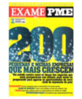 2010 - 200 Pequenas e Médias Empresas que Mais Crescem no País - Revista Exame PME