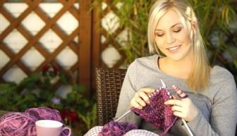 Os benefícios de fazer tricô