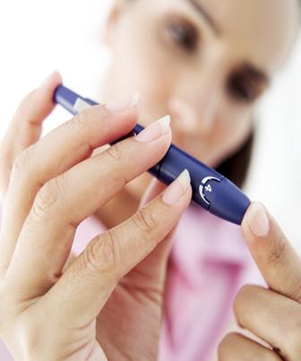 Teste de glicemia