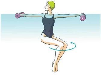 Exercícios na água queimam calorias e oferecem menos impacto nas articulações