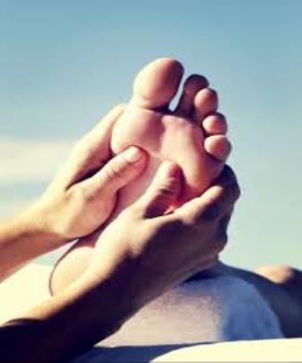 Sequência da massagem relaxante