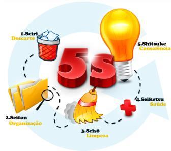 Os cinco sensos do programa 5s