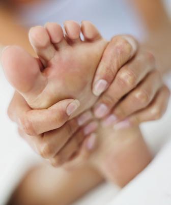 Os músculos do pé