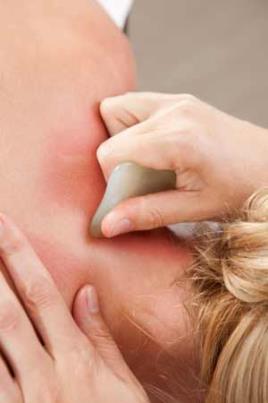 Algumas formas de massagens utilizam a filosofia da medicina tradicional chinesa.