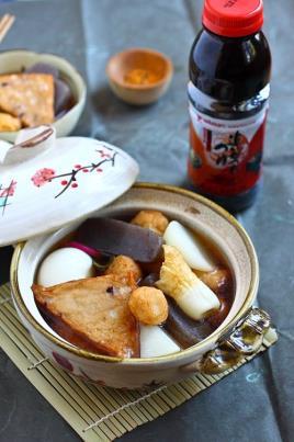 Prato Quente Japonês: Oden