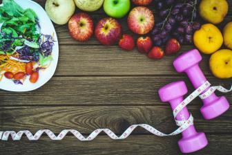 Aliar boa alimentação com exercícios físicos controla mais facilmente o peso