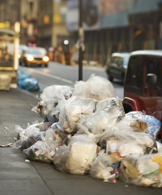O acúmulo de lixo no planeta