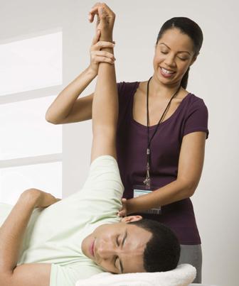 Fisioterapia no tratamento para a bursite